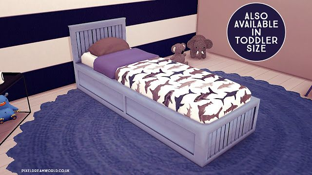Pin By Emily On Sims 4 Toddler Bed Frame Bed Frame Bed Linen Sets
