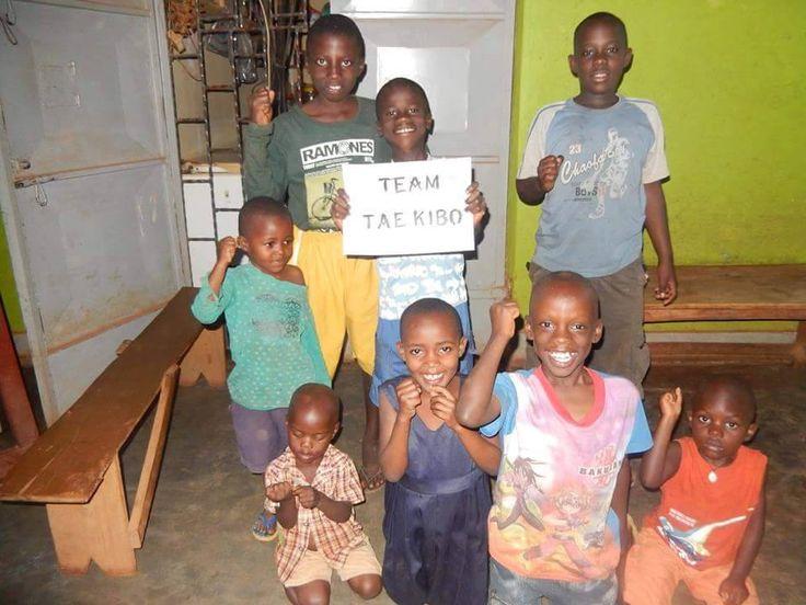 Team TAE-KIBO in Afrika