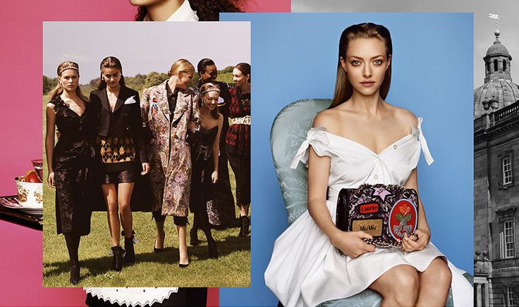 CR Fashion Book - AMANDA SEYFRIED IS MIU MIU'S NEW FACE