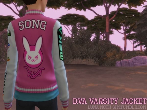Everything Sims — jurinesims:   The Sims 4 D.va Jacket from...