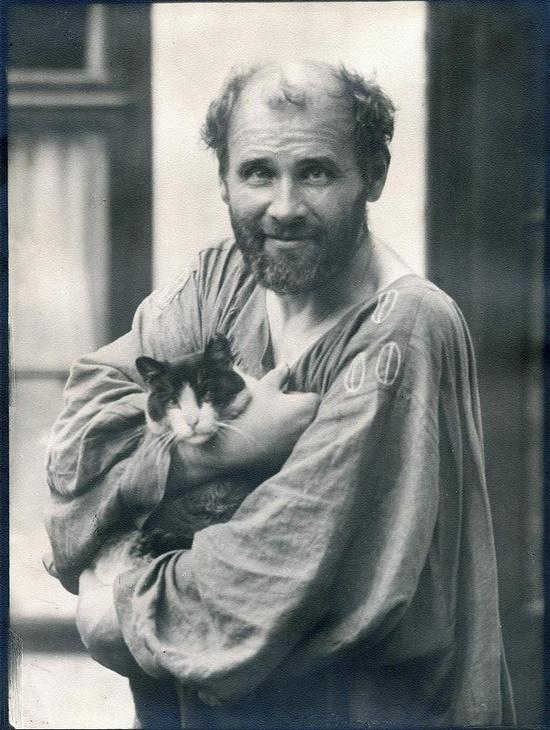 Gustav Klimt 1912.