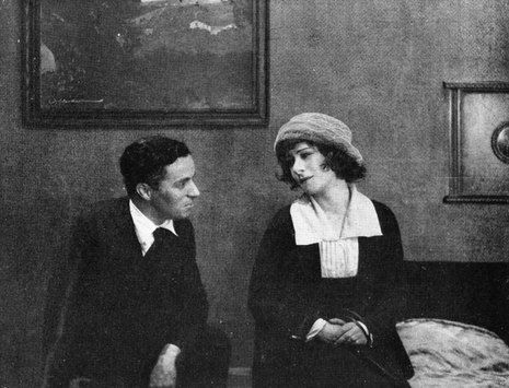 Charlie Chaplin Marries Mildred Harris | World History Project-- A rare photo of Charlie and Mildred together.