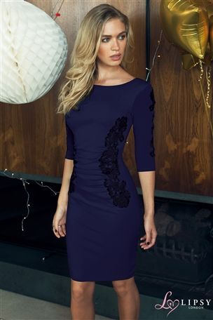 Buy Lipsy Lace Panel Dress from the Next UK online shop