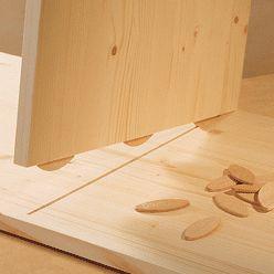 Assemblage en bois : réaliser un montage à lamelles - http://www.systemed.fr/