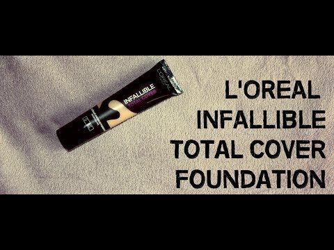 MichelaIsMyName: L'OREAL INFALLIBLE Total Cover Foundation REVIEW |...