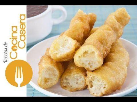 Cómo hacer porras caseras | Recetas de Cocina Casera - Recetas fáciles y sencillas