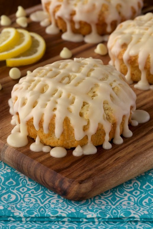 Lemon and White Chocolate Scones: A Match Made in Heaven!