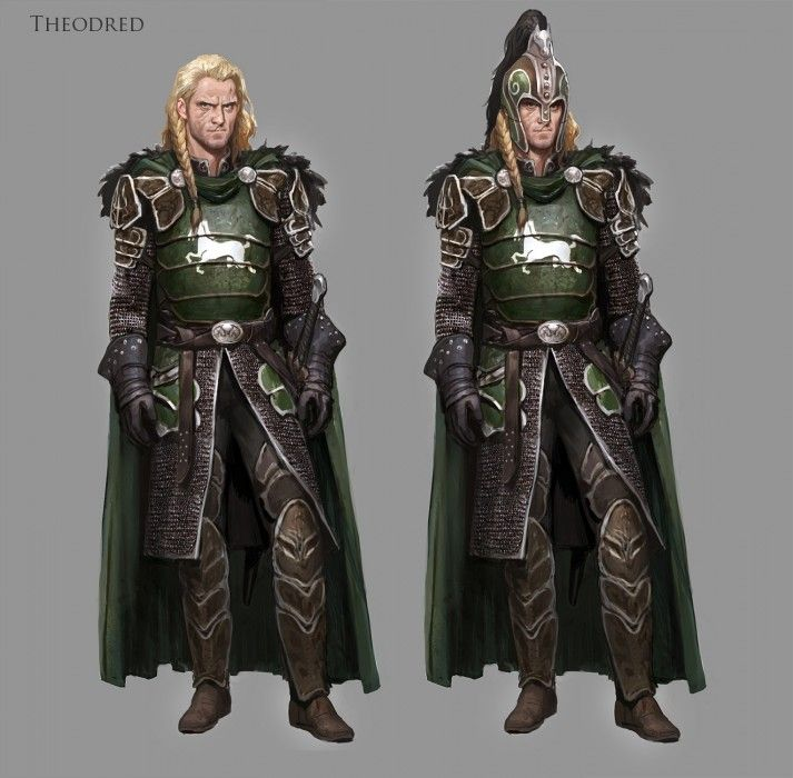 Lord of the Rings: Online -Character Concepts by Massive Black