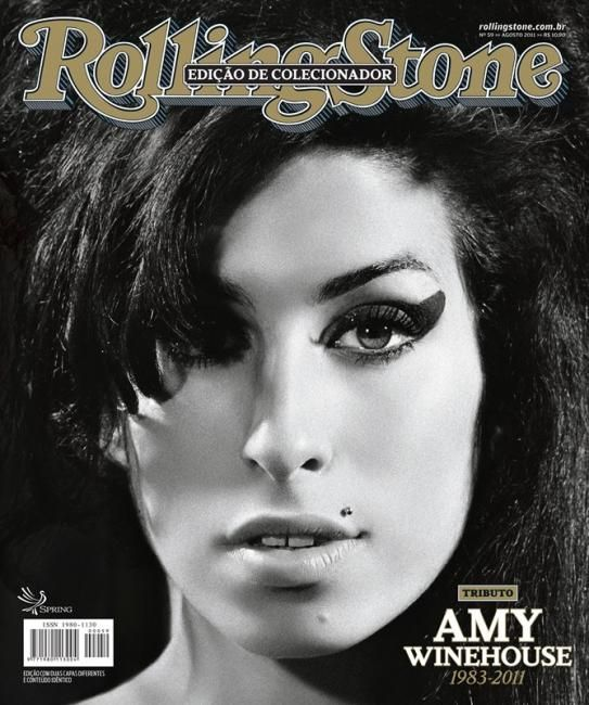 Rolling Stone Magazine Covers | Rolling Stone Brazil Aug 2011 Amy Winehouse