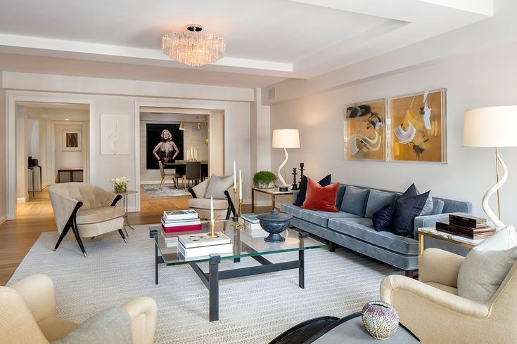 12 EAST 88TH STREET  |  LIVING ROOM | hotel interior design, hotel design industry, modern interior design | #moderninteriorhotel#designinspiration#contractfurniture | More: https://www.brabbucontract.com/projects