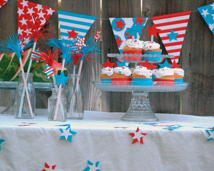 Stars and Stripes Table Crafts www.fiskars.com