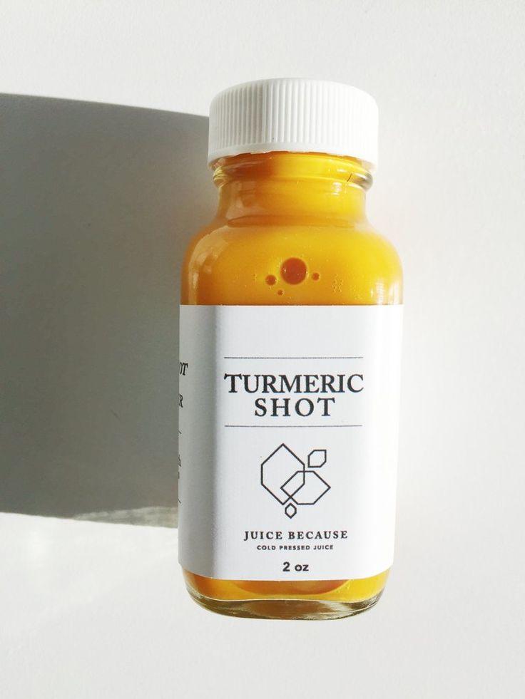 Turmeric Shot | Juice bar | Turmeric shots, Turmeric drink