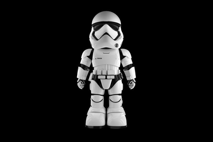 Ubtech's New Stormtrooper Bot Features Facial and Voice Recognition