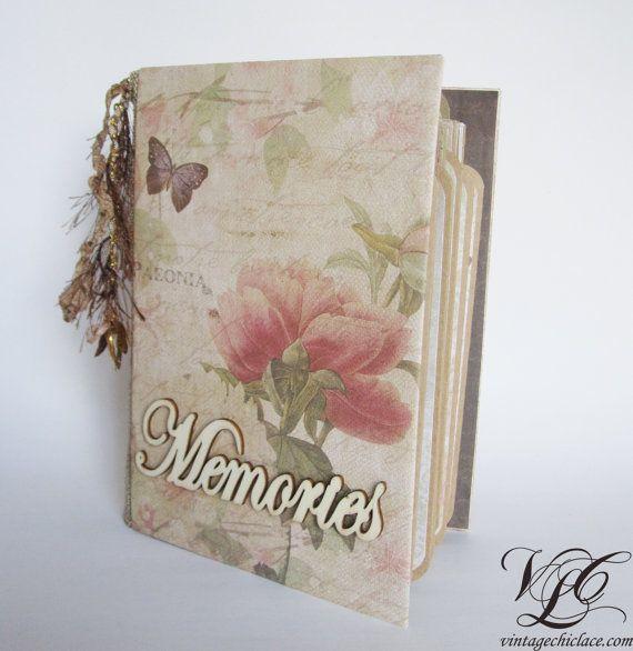 Botanical Album Photo album Personalized album by VintageChicLace