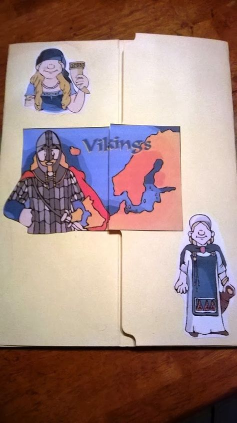 Viking Unit Study During the summer we had read about the Vikings & Leif Erikson & the kids (& I!) were fascinated. This is how the viking unit came to be