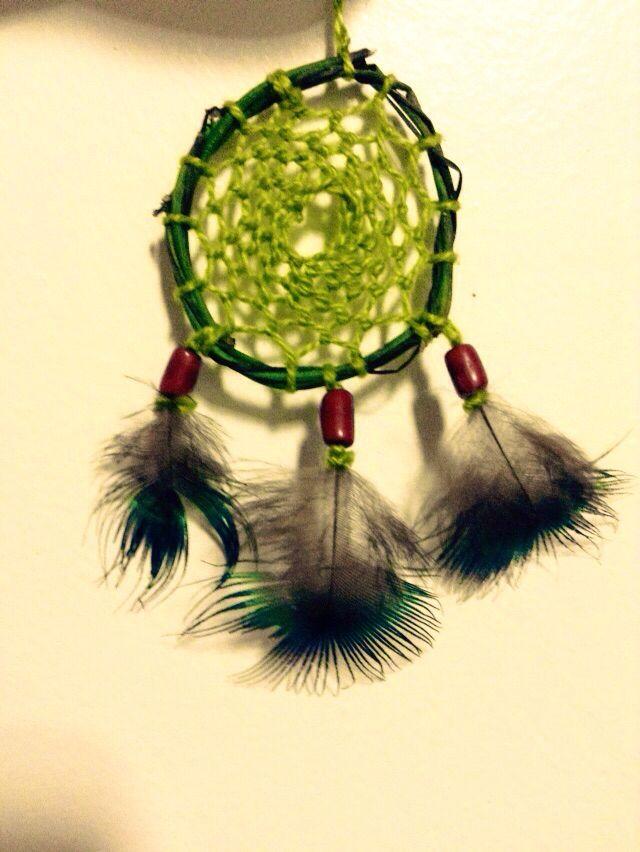 Cipó do Cantos dos Araçás. O trançado feito pela minha namorada (segundo filtro que ela faz) já pegou o jeito. E as penas são de pavão.