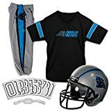 Franklin Sports NFL Carolina Panthers Deluxe Youth Uniform Set Medium