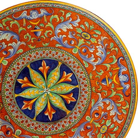 Awesome hand painted Italian ceramics