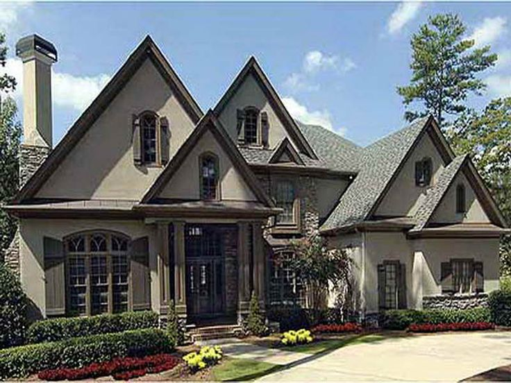 1000 ideas about french country house plans on pinterest French country home plans