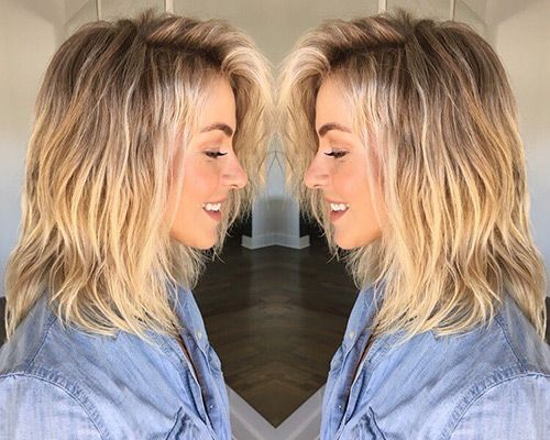 Julianne Hough's Stylist Reveals the Secret to Her Permanent Beachy Waves