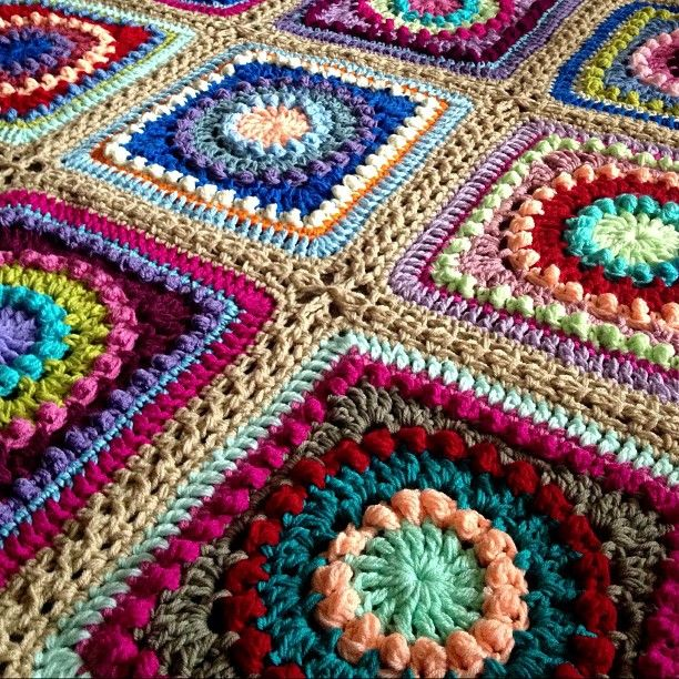 147 Best Cuadrados Circulos Y Triangulos Al Crochet Images On