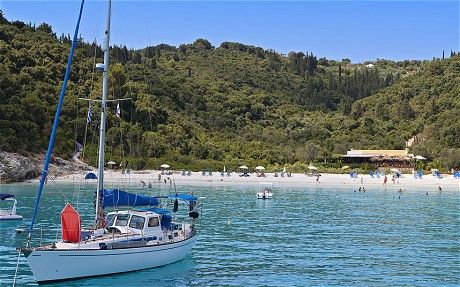 Voutoumi beach, Anti Paxos, Greece: Secret Seaside - Telegraph