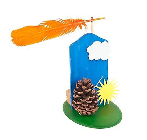 Basteln, kreativ, Meteorologie, Box, Wetterkunde, Kinder, ab vier Jahren