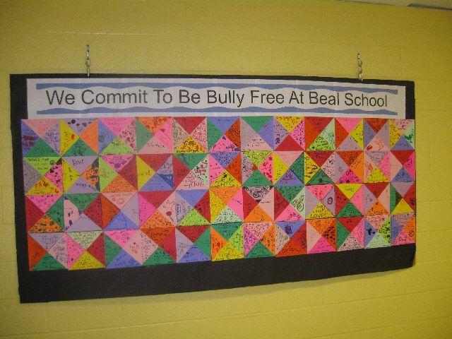 Bully free bulletin board