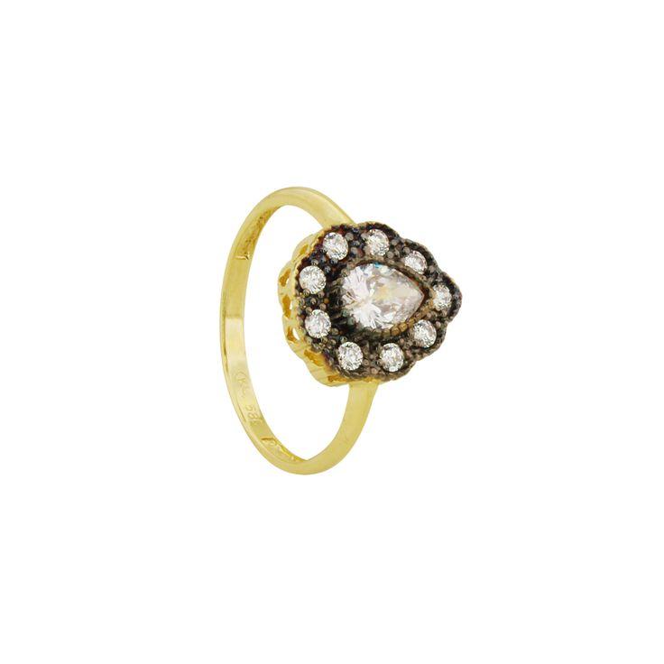 #star #taşlı #yüzük #14k #eskitme #naturalstone #pazartesi #beyaz #white #ring #kackargold #doğaltaş #tasarım #handmade #elmas #model