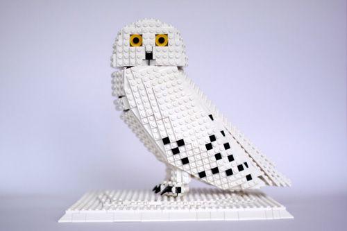 My Owl Barn: Lego Snowy Owl