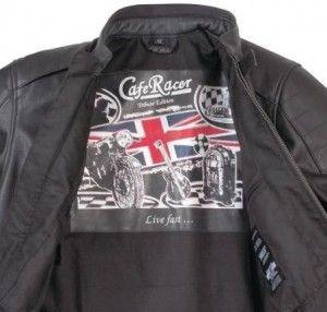 Cafe Racer Tribute Combi Jacket