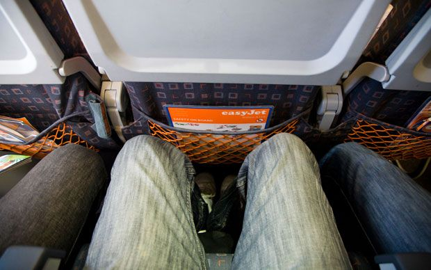 Legroom wars: the device that stops plane seats reclining - Telegraph