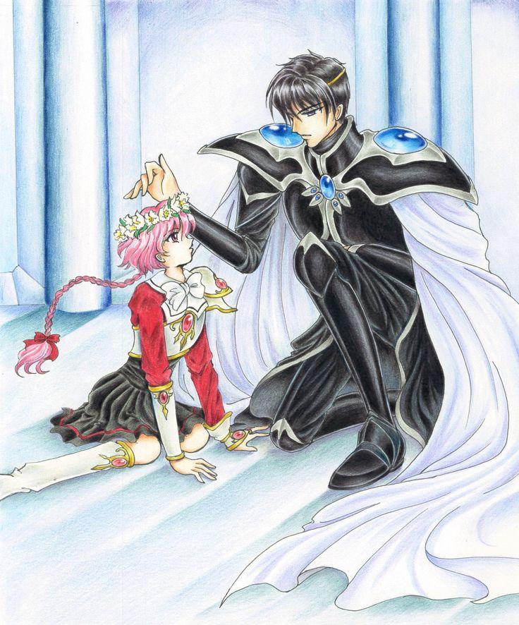 (Magic Knight Rayearth) Hikaru Shido/Lantis