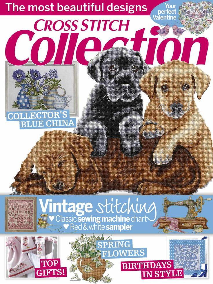 Cross Stitch Collection Issue 245 February 2015 patterns Pinned Zinio
