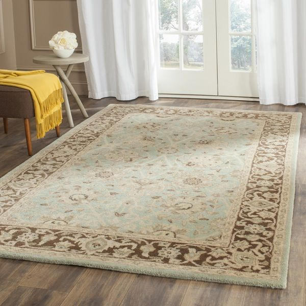 Antiquity Green / Brown Indoor Rug.