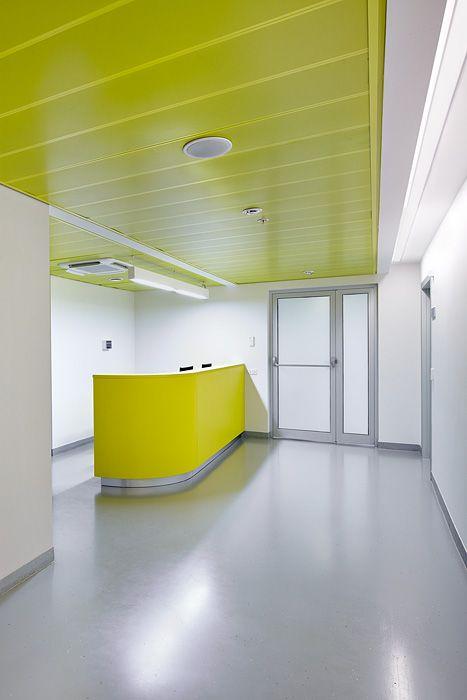 EMC reception - interior design for clinics