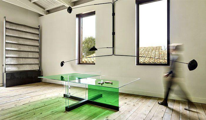 Innovative Ping Pong Table by Francesc Rife https://t.co/MiW1i4WBhJ via ElleWonderBlog