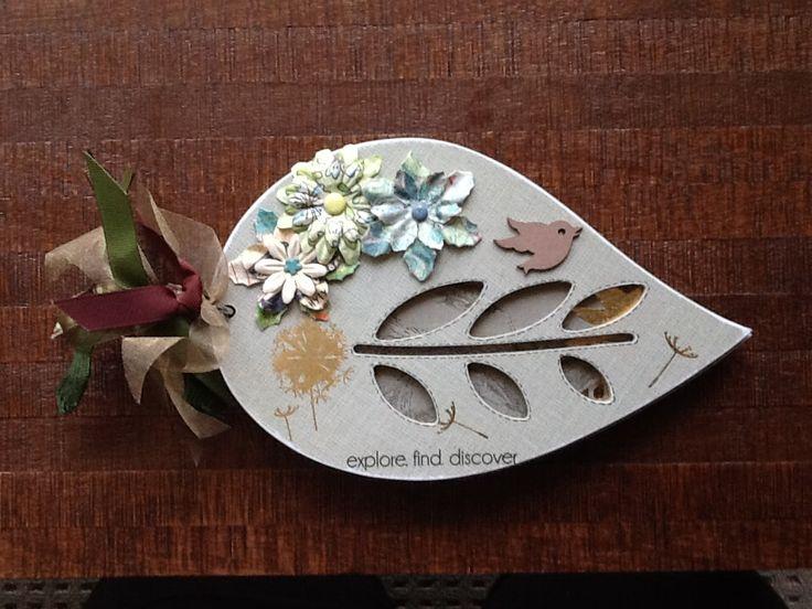 Leaf Shaped Album