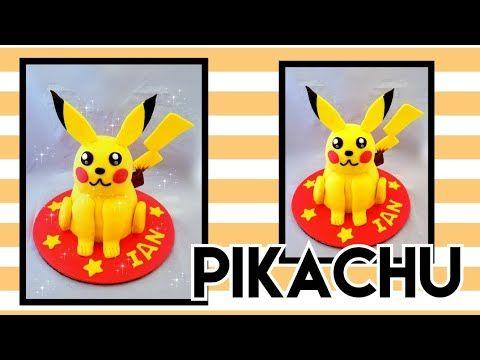 Pikachu cake /pastel de pikachu🙄🙄😄 - YouTube