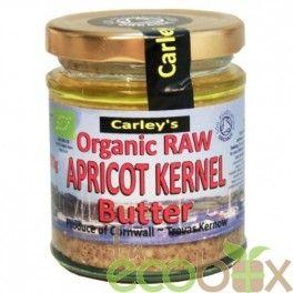 Ingredientes: semillas de huesos de albaricoques orgánicas en crudo 51 %, nueces de Brasil, aceite de girasol prensado en frío.