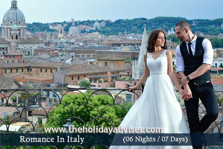 Italy 6Night - 7Day Holiday packages INR – 52000. Find complete list of Italy honeymoon and travel packages at cheapest price from Hyderabad, Chennai, Bangalore and Mumbai & enjoy the real romance of your life. Visit us: www.goo.gl/xq33ru