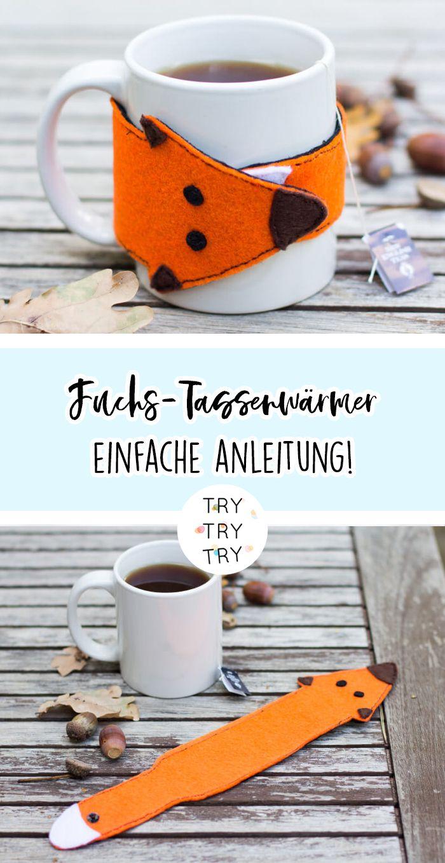 Fuchs Tassenwärmer