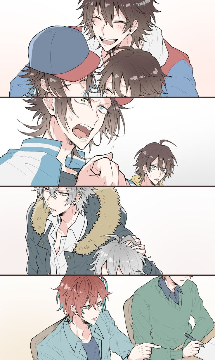 Pin by Viel R on Hypnosis Mic Cute boy drawing, Anime
