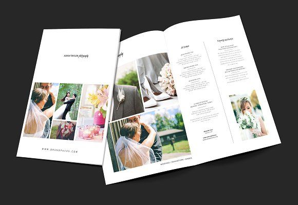 A3 Photography Brochure Template  @creativework247