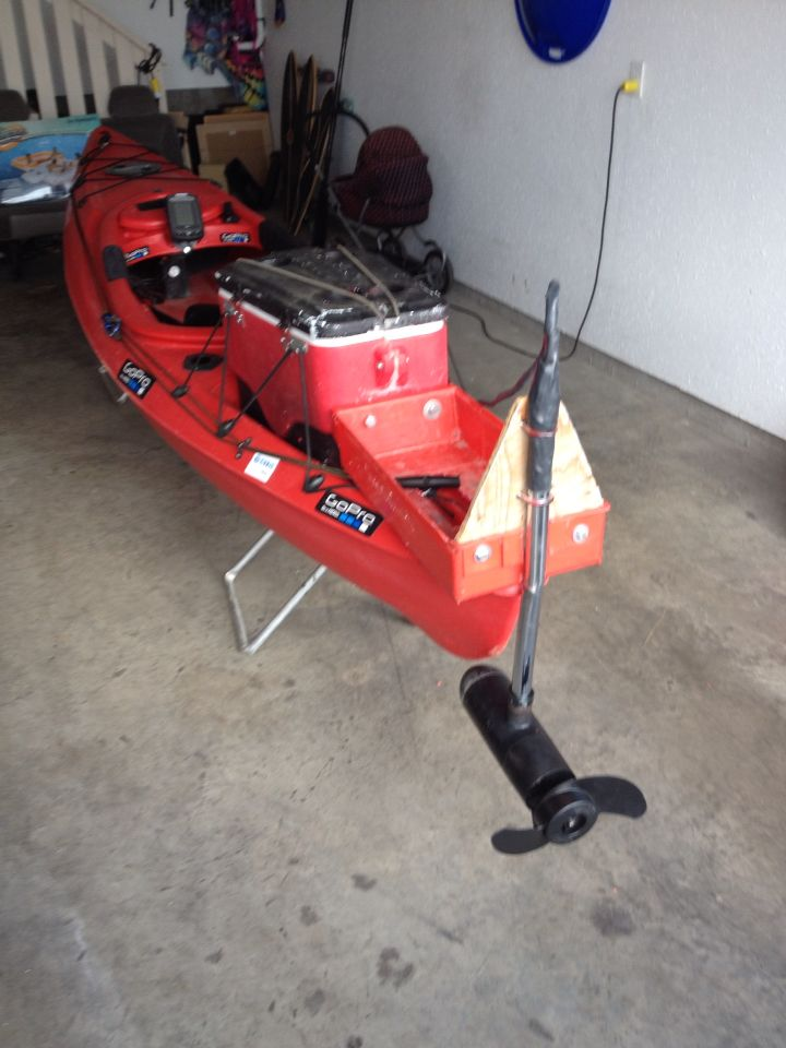 10 Best Images About Diy Kayak Trolling Motor And Mount