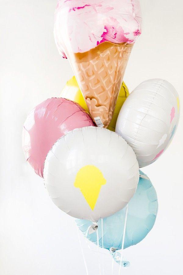 Ice cream balloons! #lifeoftheparty