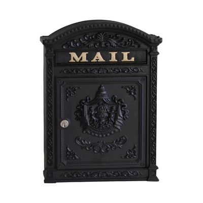 wall mount victorian mailbox