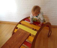 Awesome Spielm bel f r Kinder selber bauen u mit Schablone Kletterbogen Wippe Wiege Rutsche