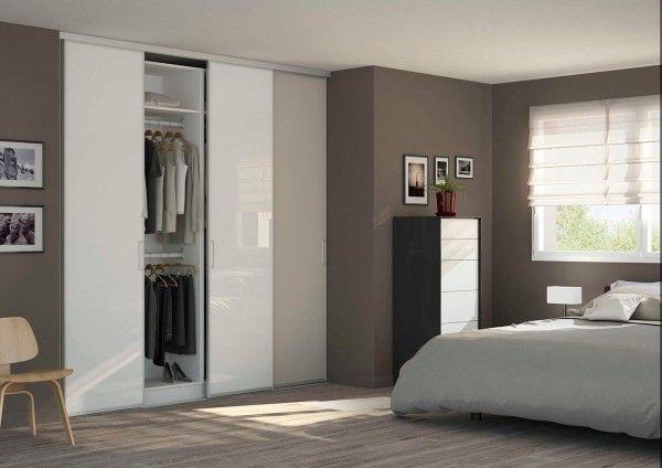 27 best Déco images on Pinterest Home ideas, Salon cosy and Salons - porte garde robe coulissante mesure