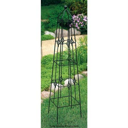 Garden Obelisk For My Jasmine Porch Flowers Garden 400 x 300